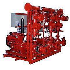 Насосные станции с приводом от электрических / дизельных двигателей для противопожарных систем